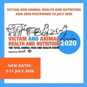 เลื่อนจัดงาน VICTAM and Animal Health and Nutrition 2020 เป็นวันที่ 9-11 ก.ค. 2563